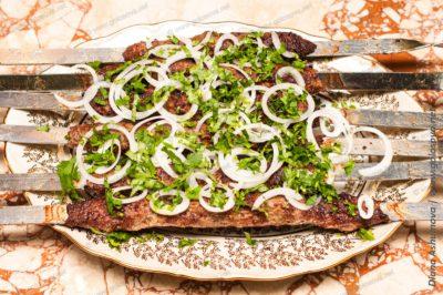 люля кебаб из баранины на мангале