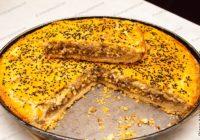 пирог с фаршем и яйцом