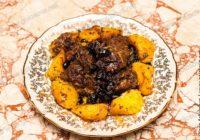 жареная печень индейки с апельсинами
