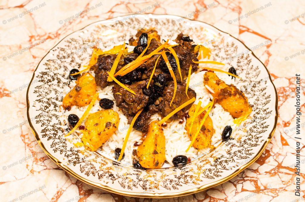 печень индейки с рисом