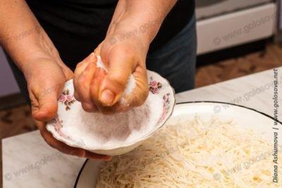 соль в квашеную капусту