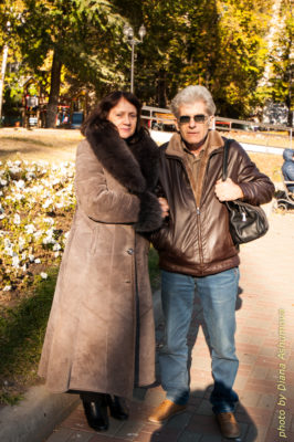 я с мужем в Воронеже