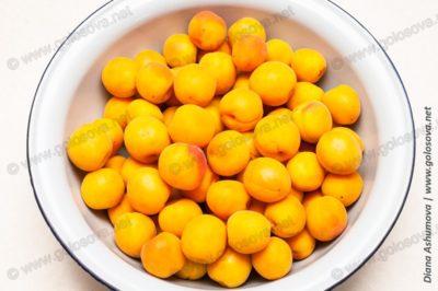 мытые абрикосы для варенья