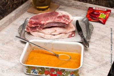 маринад для стейка из свинины в духовке
