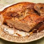 Буженина в духовке. Рецепт буженины из свинины запеченной в духовке.