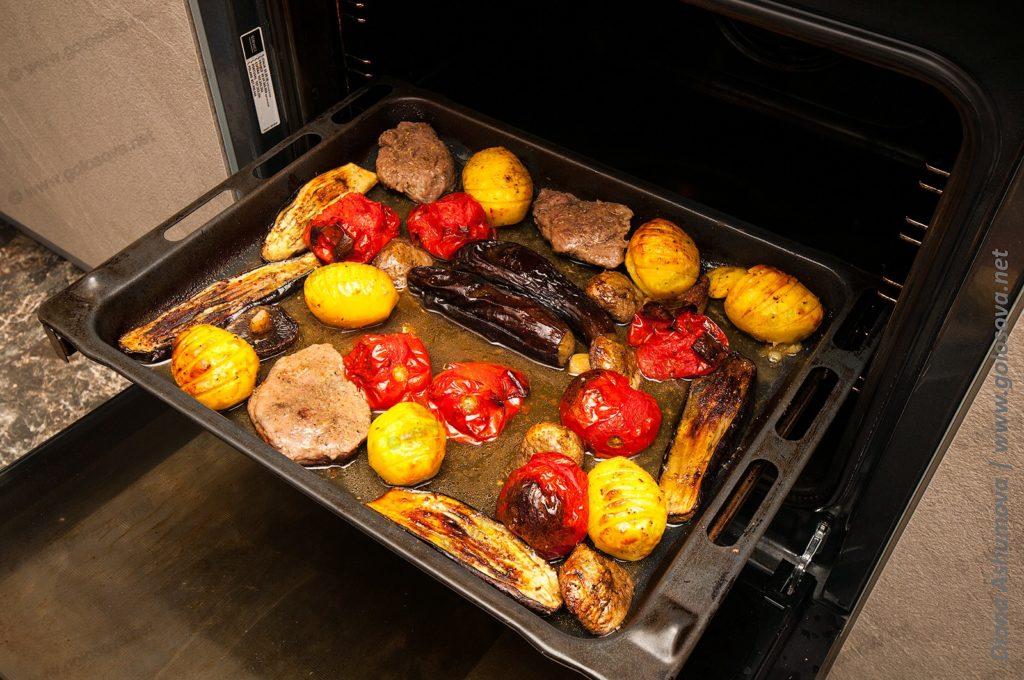 овощи в духовке запеченные крупными