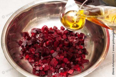 рецепт винегрета с селедкой и растительным маслом