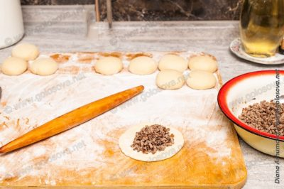 как приготовить пирожки с печенкой