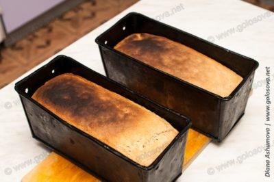 хлеб ржано-пшеничный на дрожжах в духовке