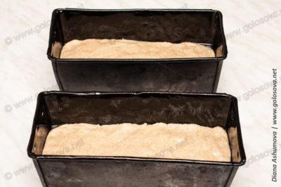 рецепт серого хлеба в духовке