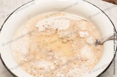 как испечь ржано-пшеничный хлеб?