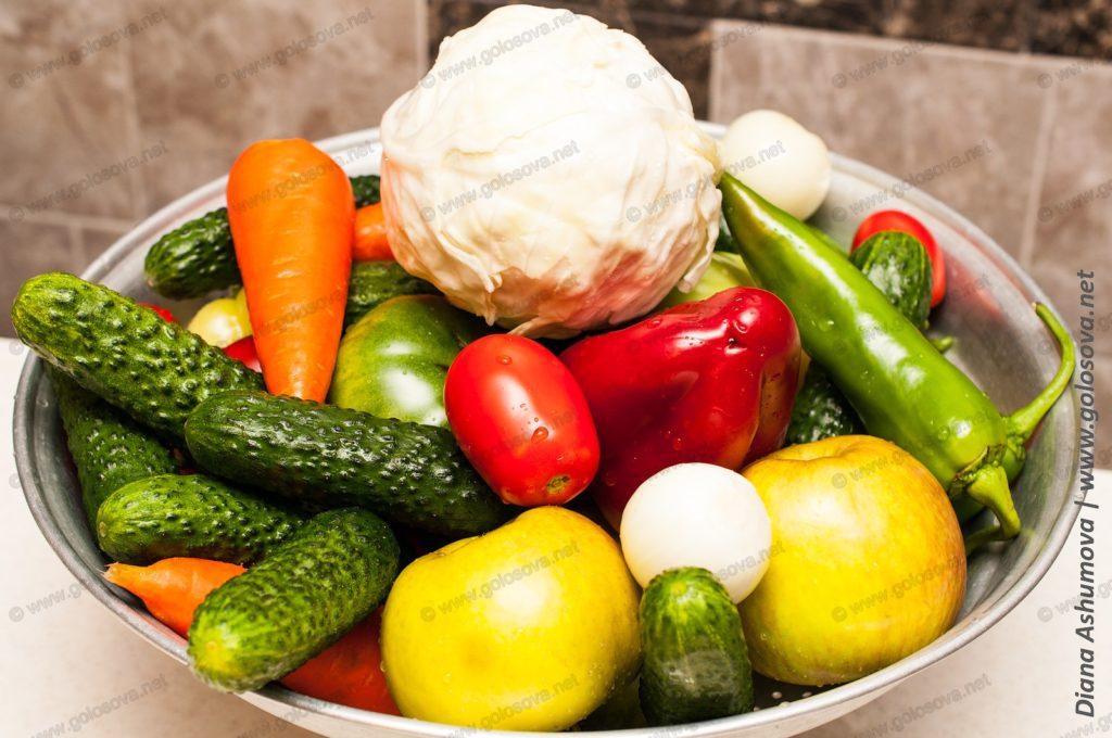 овощи на пикули