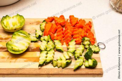 овощное ассорти заготовки