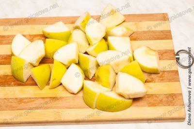 зеленый яблоки сорта Симеренко