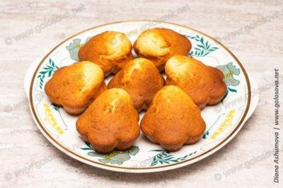рецепт кексов с имбирем