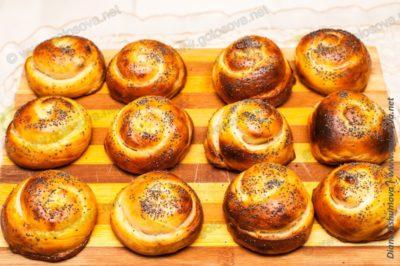 домашние булочки в духовке