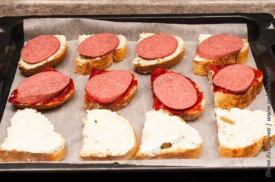 горячие бутерброды с майонезом