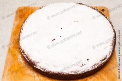 пирог из свежих мандаринов