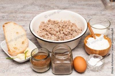 продукты на тефтели в сметане