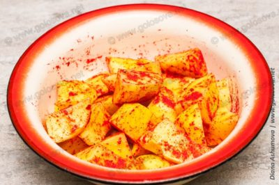 картошка со сладкой паприкой
