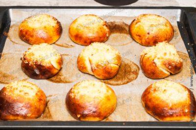 булочки со штрейзелем в духовке