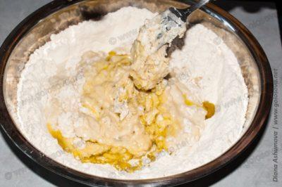 тесто на оливковом масле