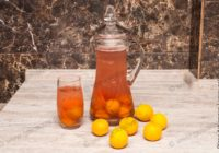 компот из свежих абрикосов