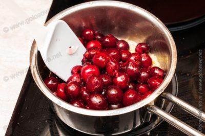 как из вишни сделать соус к мясу