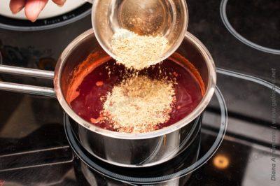 как приготовить соус из алычи