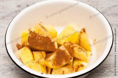 картофель с корицей