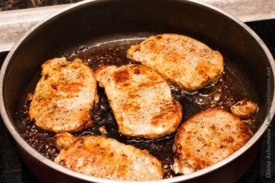 как приготовить отбивные из свинины на сковороде