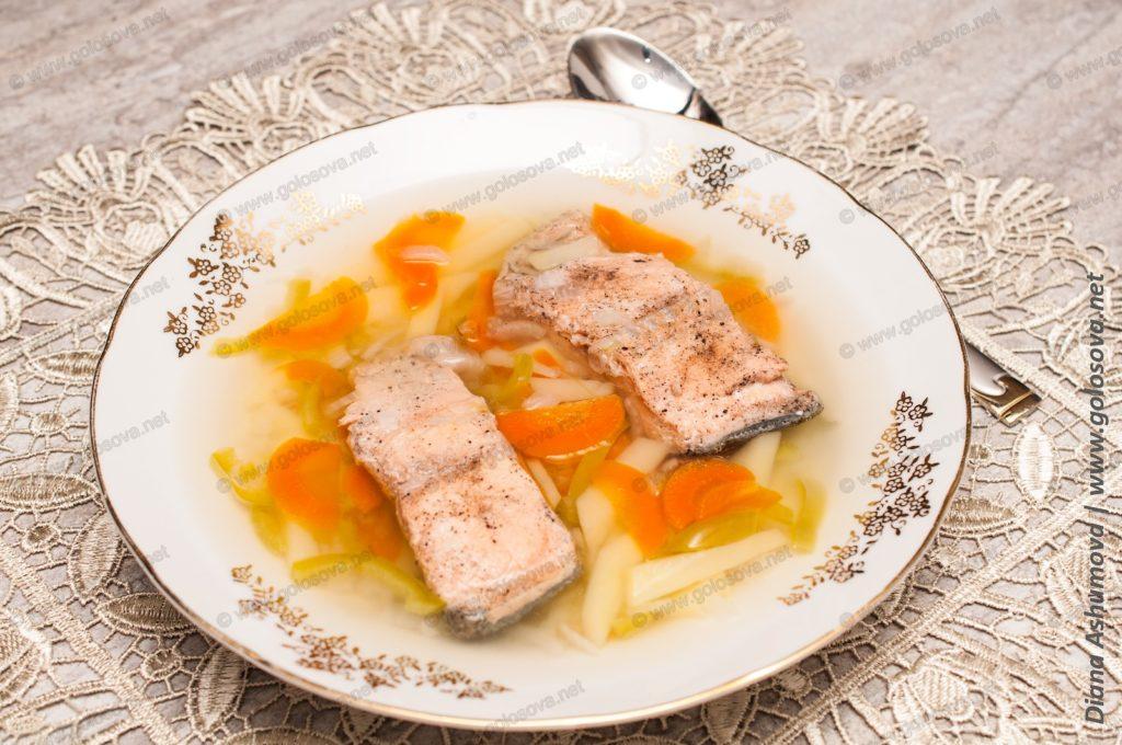 рыбный суп из кеты в домашних условиях