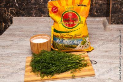 рис басмати для плова