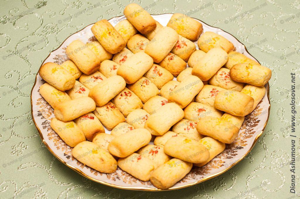 Поленца - песочное печенье на маргарине