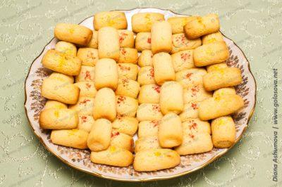 Поленца - домашнее песочное печенье на маргарине