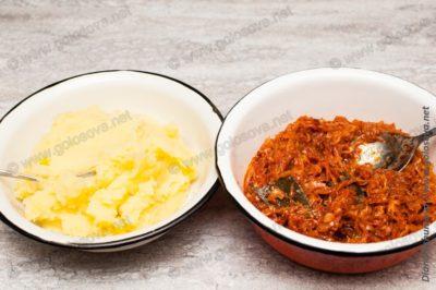 начинки для пирожков: картошка и капуста