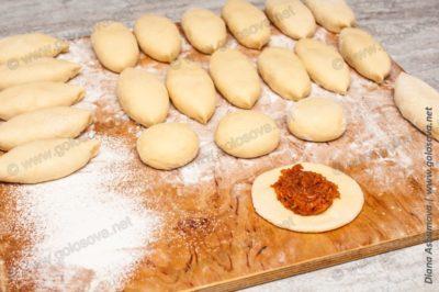 пирожки с капустой на воде