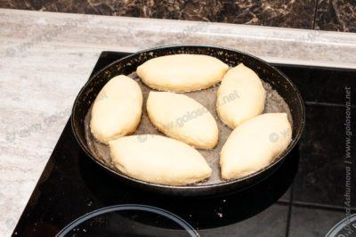 пирожки с картошкой жареные на воде