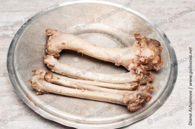 голые кости индейки