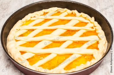 простой апельсиновый пирог в духовке