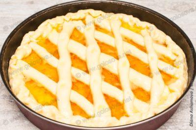 рецепт пирога с апельсиновым джемом