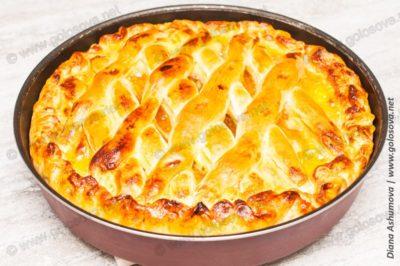рецепт апельсинового пирога в духовке