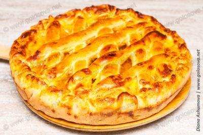 простой рецепт апельсинового пирога в духовке