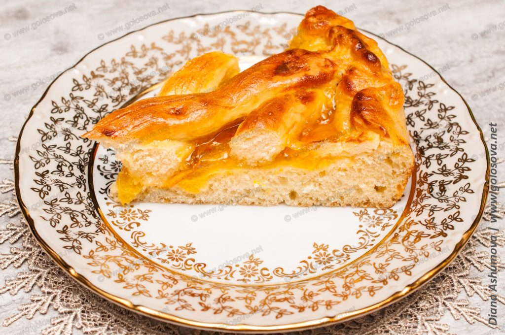пирог с апельсиновым джемом