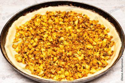 пирог с филе курицы в духовке