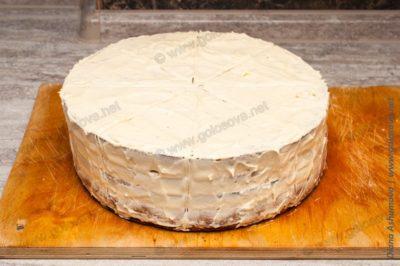 торту Кудряш со сливочным кремом