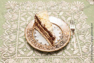 кусочек торта Кудряш