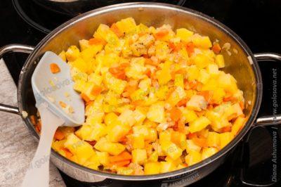 овощи в сливочном масле