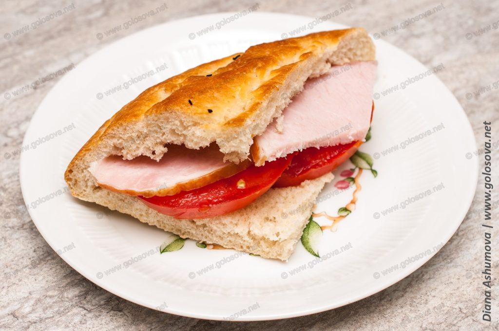 бутерброд из чурека